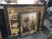 Sale 8836 - Lot 2077 - Group of (3) Australian School Paintings by Tony Lewis, Peter Edwards and Jusy Cadden