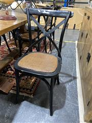 Sale 8901F - Lot 1036 - Set of 6 Cross Back Dining Chairs