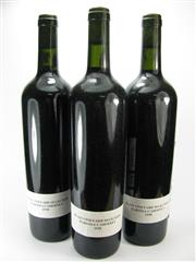 Sale 8238B - Lot 85 - 3x 1998 Wolf Blass Vineyard Selection Cabernet, Barossa Valley