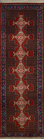Sale 8402C - Lot 5 - Persian Hamadan Runner 290cm x 90cm