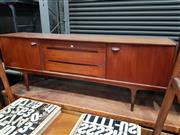 Sale 8741 - Lot 1013 - Quality Younger Afromosia Teak Sideboard