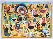 Sale 8918A - Lot 5029 - Yosi Messiah (1964 - ) - Morning Sun 75 x 100 cm