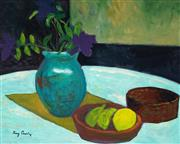 Sale 8959A - Lot 5013 - Ray Crooke (1922 - 2015) - Still Life with Fruit 39 x 49 cm (frame: 62 x 72 x 5 cm)