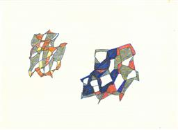 Sale 8991A - Lot 5015 - Lyndon Dadswell (1908-1986) (10 works) - Sketches no. 911 - 920, c1970s various sizes