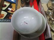 Sale 8032 - Lot 98 - Chinese Yellow Monochrome Bowl & Dish