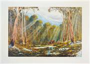 Sale 8113A - Lot 93 - Kevin Best (1932 - 2012) - The Search Party 48 x 72cm