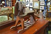 Sale 8257 - Lot 1061 - Timber Rocking Horse