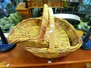 Sale 8648 - Lot 1036 - Three Wicker Baskets