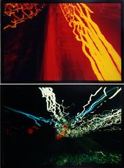 Sale 9032A - Lot 5036 - Brycen Horne ( 2 works) (1972 - ) - Untitled (Electric Series) 178.5 x 119 cm, each (frame: 184 x 124 x 5 cm)