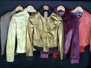 Sale 7982B - Lot 98 - Dolce & Gabbana, five jackets including three leather, sizes L - R are: 44, 44, M, L, 42