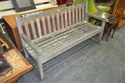 Sale 8175 - Lot 1039 - Timber Outdoor Bench
