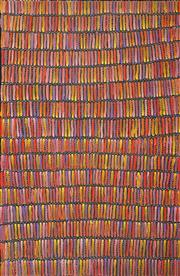 Sale 8549 - Lot 541 - Jeannie Mills Pwerle (1965 - ) - Bush Yam 200 x 130cm