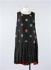Sale 8760F - Lot 127 - A never-worn Kenzo x H&M reversible silk blend dress, size 12-14