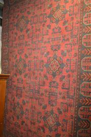 Sale 8115 - Lot 1244 - Afghan Hand Knotted Khal Mohammadi (190 x 125cm)