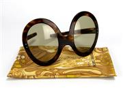 Sale 8134B - Lot 385 - A PAIR OF 1970S PIERE CARDIN SUNGLASSES; with case.
