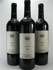 Sale 8238B - Lot 88 - 3x 1999 Grant Burge Meshach Shiraz, Barossa Valley