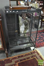 Sale 8347 - Lot 1074 - Large Cockatoo Cage