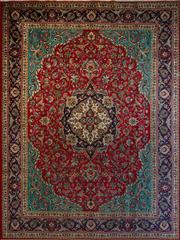 Sale 8439C - Lot 58 - Persian Tabriz 387cm x 292cm
