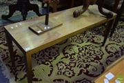 Sale 8532 - Lot 1155 - Retro Timber Coffee Table