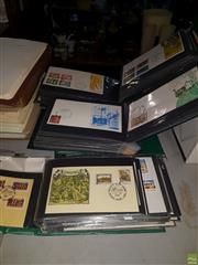 Sale 8563T - Lot 2466 - 5 Binders of Australian & Other First Day Covers