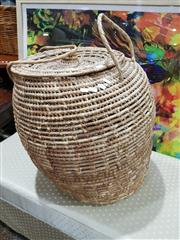 Sale 8826 - Lot 1035 - Large Basket and Others