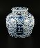 Sale 3803 - Lot 788 - A BLUE AND WHITE GINGER JAR
