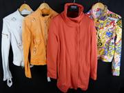 Sale 7982B - Lot 96 - Versace, four 1980s jackets including two denim, all are Medium