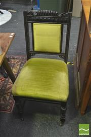 Sale 8406 - Lot 1034 - Set of 6 Carved Back Dining Chairs