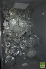 Sale 8497 - Lot 2388 - Box of Glassware incl Colony from Turkey etc