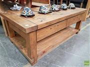 Sale 8550 - Lot 1459 - Rustic Timber Coffee Table