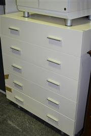 Sale 8093 - Lot 1461 - Modern White Chest of Drawers