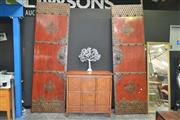 Sale 8175 - Lot 1010 - Pair of Large Chinese Entrance Doors