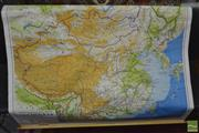 Sale 8235 - Lot 1078 - Vintage Educational Map of China