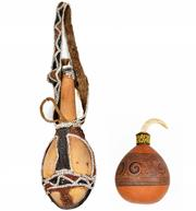 Sale 8540 - Lot 59 - Ceremonial Lime Gourds (Ramy River & Trobrian Island, PNG)