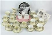 Sale 8403 - Lot 8 - Aynsley Henley Tea Wares with Other Ceramics Incl. Rosenthal Plate