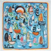Sale 8918A - Lot 5022 - Yosi Messiah (1964 - ) - Blue Harmony 85 x 85 cm