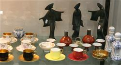 Sale 7914 - Lot 97 - Japanese Figures with Various Other Japanese Wares