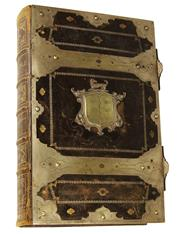 Sale 8057 - Lot 38 - George I Fleetwood Family Bible Clad in Silver Dated 1722
