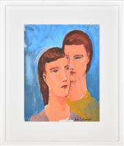 Sale 8389 - Lot 526 - Bill Coleman (1922 - 1993) - Untitled (Couple) 36 x 28cm