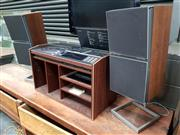 Sale 8684 - Lot 1077 - Bang and Olufsen Beocenter 7002 with Speakers