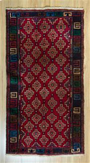 Sale 8693C - Lot 72 - Persian Baluchi 160cm x 87cm