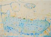 Sale 8907 - Lot 522 - John Olsen (1928 - ) - The Bath, Early Morning 50 x 71 cm