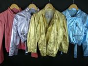 Sale 7982B - Lot 40 - Versace, four leather jackets in assorted colours