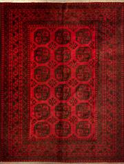 Sale 8335C - Lot 59 - Approx. 30 Years Old Afghan Turkman 260cm x 200cm