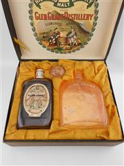 Sale 8531 - Lot 1974 - 1x Glengrant 20YO Directors Reserve Highland Malt Scotch Whisky - 1980s, in gift box with decanter & stopper