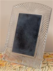 Sale 9071H - Lot 56 - A Waterford Crystal photo frame, Height 27.5cm x 21cm