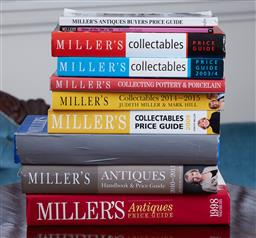 Sale 9103M - Lot 502 - A collection of Millers antiques reference books.
