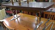 Sale 7944A - Lot 1019 - Retro Coffee Table w Adjustable Height Mechanism