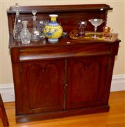 Sale 7997 - Lot 71 - VICTORIAN CEDAR SIDEBOARD WITH SMALL PROPORTIONS