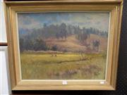 Sale 8437 - Lot 2013 - David Fowler (1924 - 1971) - Par 3, 1971 45 x 58.5cm